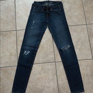American Eagle Jegging stretch size 0